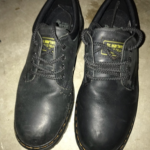 authentic quality innovative design top quality Doc marten steel toe low tops size 10 men's